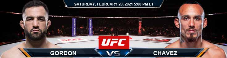 UFC Fight Night 185 Gordon vs Chavez 02-20-2021 Forecast Tips and Results