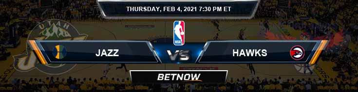 Utah Jazz vs Atlanta Hawks 2-4-2021 NBA Previews and Game Analysis