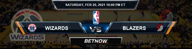 Washington Wizards vs Portland Trail Blazers 2-20-2021 NBA Odds and Picks