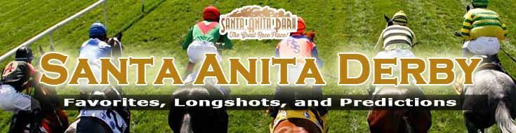 2021 Santa Anita Derby Favorites, Longshots, and Predictions