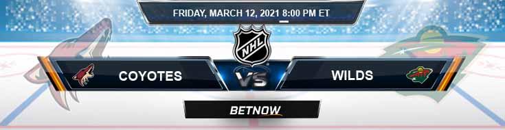 Arizona Coyotes vs Minnesota Wild 03-12-2021 Forecast Hockey Analysis and Results