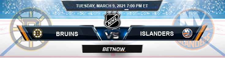 Boston Bruins vs New York Islanders 03-09-2021 NHL Spread Game Analysis and Hockey Tips