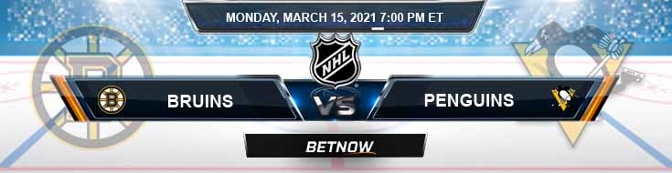 Boston Bruins vs Pittsburgh Penguins 03-15-2021 Predictions Hockey Previews and Spread