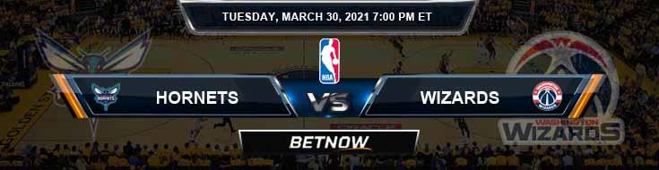 Charlotte Hornets vs Washington Wizards 3-30-2021 NBA Spread and Picks