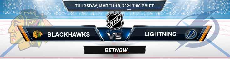 Chicago Blackhawks vs Tampa Bay Lightning 03-18-2021 Forecast Hockey Analysis and Results