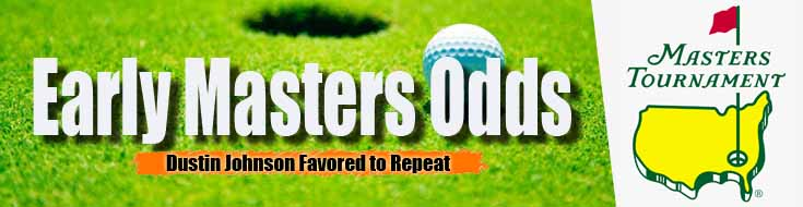 Early Masters Odds Dustin Johnson Favored to Repeat