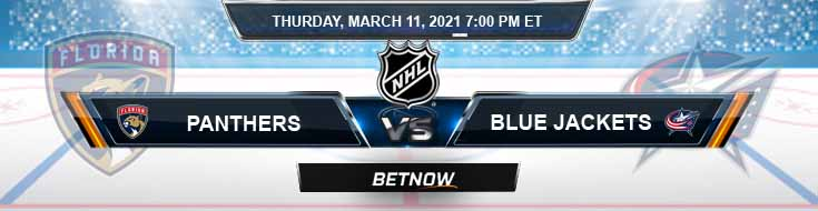 Florida Panthers vs Columbus Blue Jackets 03-11-2021 Tips NHL Forecast and Analysis