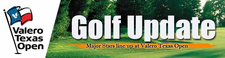 Golf Update Major Stars Line Up at Valero Texas Open