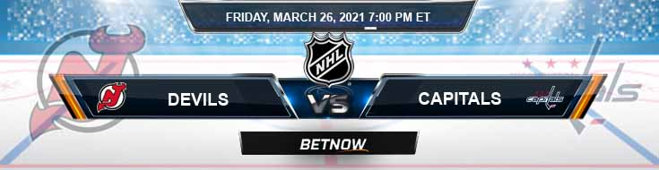 New Jersey Devils vs Washington Capitals 03-26-2021 NHL Analysis Results and Hockey Betting