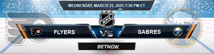 Philadelphia Flyers vs Buffalo Sabres 03-31-2021 NHL Predictions Previews and Hockey Spread