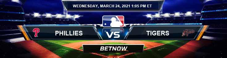 Philadelphia Phillies vs Detroit Tigers 03-24-2021 Baseball Tips Forecast and Spring Training Analysis
