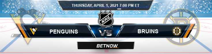 Pittsburgh Penguins vs Boston Bruins 04-01-2021 Spread Game Analysis and Tips
