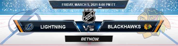 Tampa Bay Lightning vs Chicago Blackhawks 03-05-2021 Picks Predictions and Previews