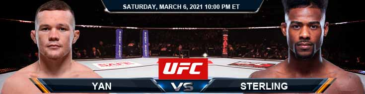 UFC 259 Yan vs Sterling 03-06-2021 Forecast Tips and Results