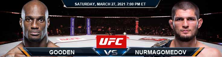 UFC 260 Gooden vs Nurmagomedov 03-27-2021 Fight Forecast Tips and UFC Results