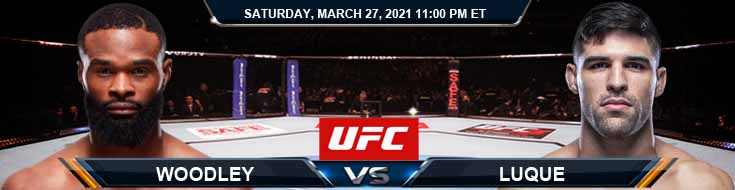 UFC 260 Woodley vs Luque 03-27-2021 Picks Fight Predictions and Previews