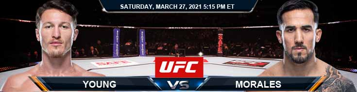 UFC 260 Young vs Morales 03-27-2021 Fight Analysis Forecast and Tips
