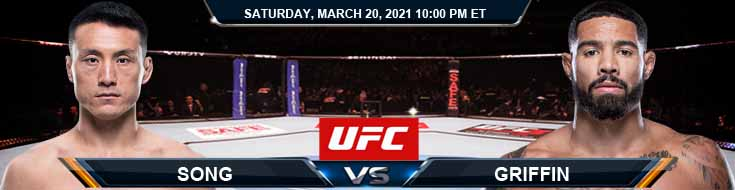 UFC on ESPN 21 Song vs Griffin 03-20-2021 UFC Previews Spread and Fight Analysis