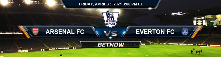 Arsenal vs Everton 04-23-2021 Results Soccer Odds and Picks