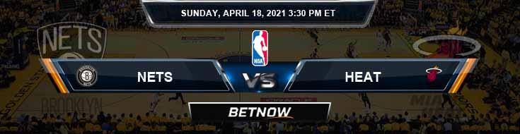 Brooklyn Nets vs Miami Heat 4-18-2021 NBA Prediction and Game Analysis