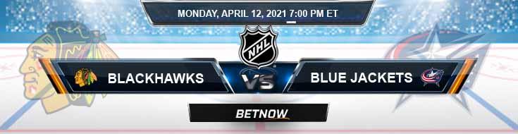 Chicago Blackhawks vs Columbus Blue Jackets 04-12-2021 Game Analysis NHL Picks & Odds