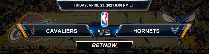 Cleveland Cavaliers vs Charlotte Hornets 4-23-2021 NBA Spread and Picks
