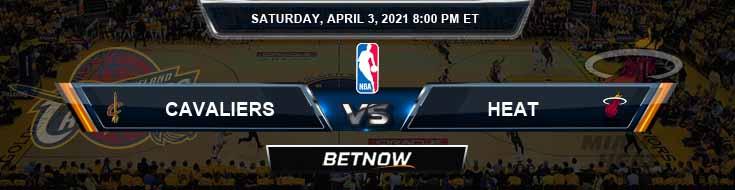 Cleveland Cavaliers vs Miami Heat 4-3-2021 NBA Picks and Game Analysis