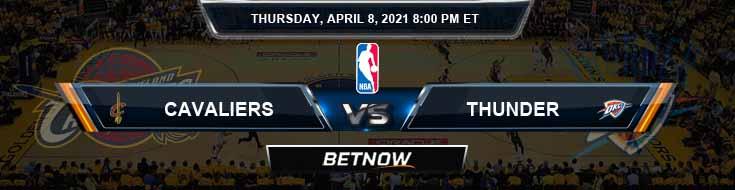 Cleveland Cavaliers vs Oklahoma City Thunder 4-8-2021 NBA Odds and Picks