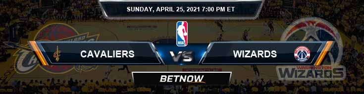 Cleveland Cavaliers vs Washington Wizards 4-25-2021 NBA Odds and Picks