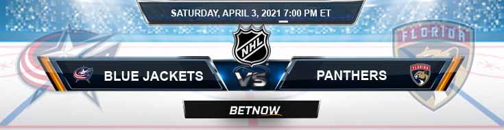 Columbus Blue Jackets vs Florida Panthers 04-03-2021 NHL Predictions Picks & Previews