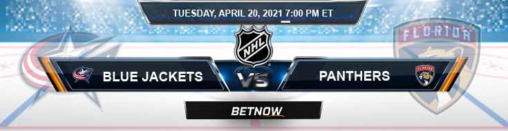 Columbus Blue Jackets vs Florida Panthers 04-20-2021 Spread Picks & Hockey Betting