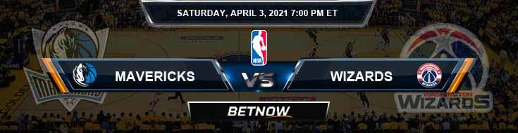 Dallas Mavericks vs Washington Wizards 4-3-2021 NBA Odds and Picks
