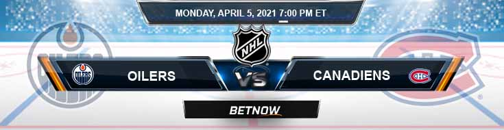 Edmonton Oilers vs Montreal Canadiens 04-05-2021 NHL Analysis Picks