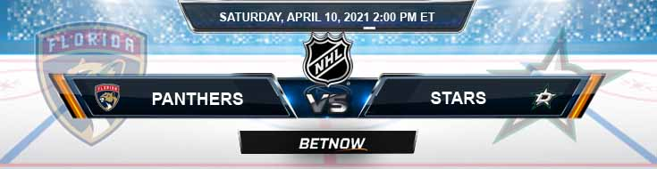 Florida Panthers vs Dallas Stars 04-10-2021 NHL Forecast Previews & Odds