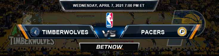 Minnesota Timberwolves vs Indiana Pacers 4-7-2021 NBA Spread and Picks