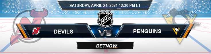 New Jersey Devils vs Pittsburgh Penguins 04-24-2021 NHL Tips Spread & Picks