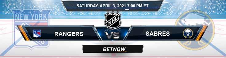 New York Rangers vs Buffalo Sabres 04-03-2021 Previews NHL Betting & Predictions