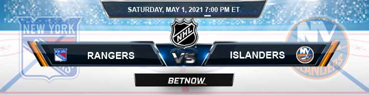 New York Rangers vs New York Islanders 05-01-2021 Spread NHL Odds & Results