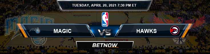 Orlando Magic vs Atlanta Hawks 4-20-2021 Spread Picks and Prediction