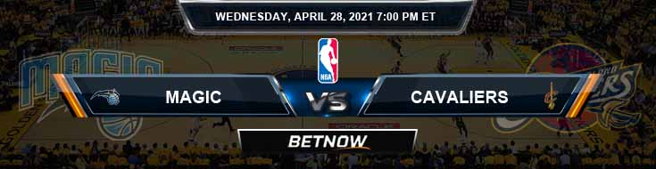Orlando Magic vs Cleveland Cavaliers 4-28-2021 NBA Spread and Picks