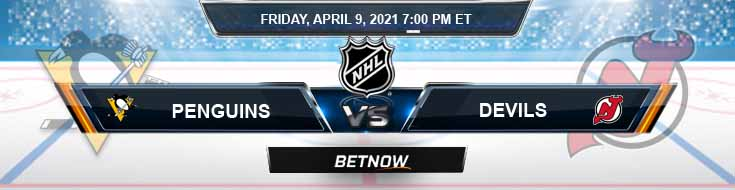 Pittsburgh Penguins vs New Jersey Devils 04-09-2021 Game Analysis Hockey Betting & Picks