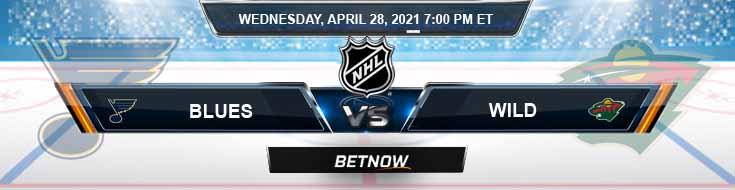 St. Louis Blues vs Minnesota Wild 04-28-2021 NHL Forecast Picks & Game Analysis