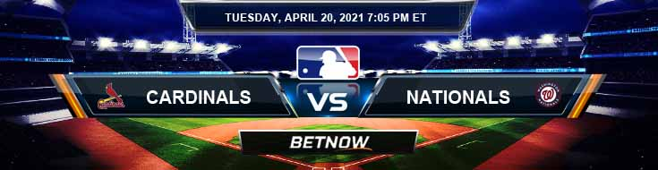 St. Louis Cardinals vs Washington Nationals 04-20-2021 Spread Game Analysis and MLB Baseball