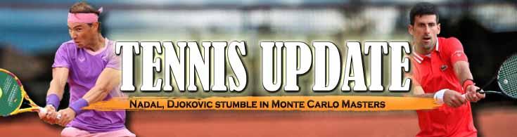 Tennis Update Nadal Djokovic Stumble in Monte Carlo Masters