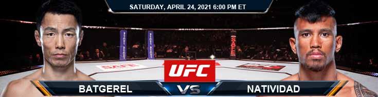 UFC 261 Batgerel vs Natividad 04-24-2021 Tips Results and Analysis