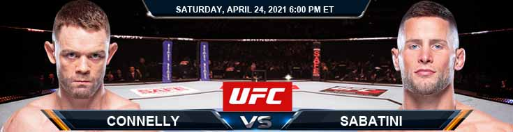 UFC 261 Connely vs Sabatini 04-24-2021 Previews Spread and Forecast