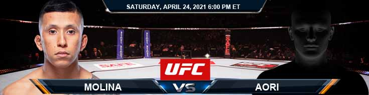UFC 261 Molina vs Aori 04-24-2021 Results Analysis and Odds