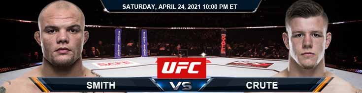 UFC 261 Smith vs Crute 04-24-2021 Spread Fight Analysis and Forecast