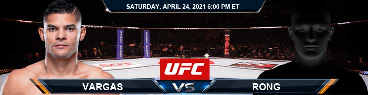 UFC 261 Vargas vs Rong 04-24-2021 Odds Picks and Predictions