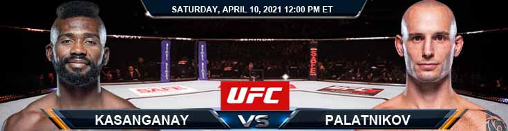 UFC on ABC 2 Kasanganay vs Palatnikov 04-10-2021 Forecast Tips and Results